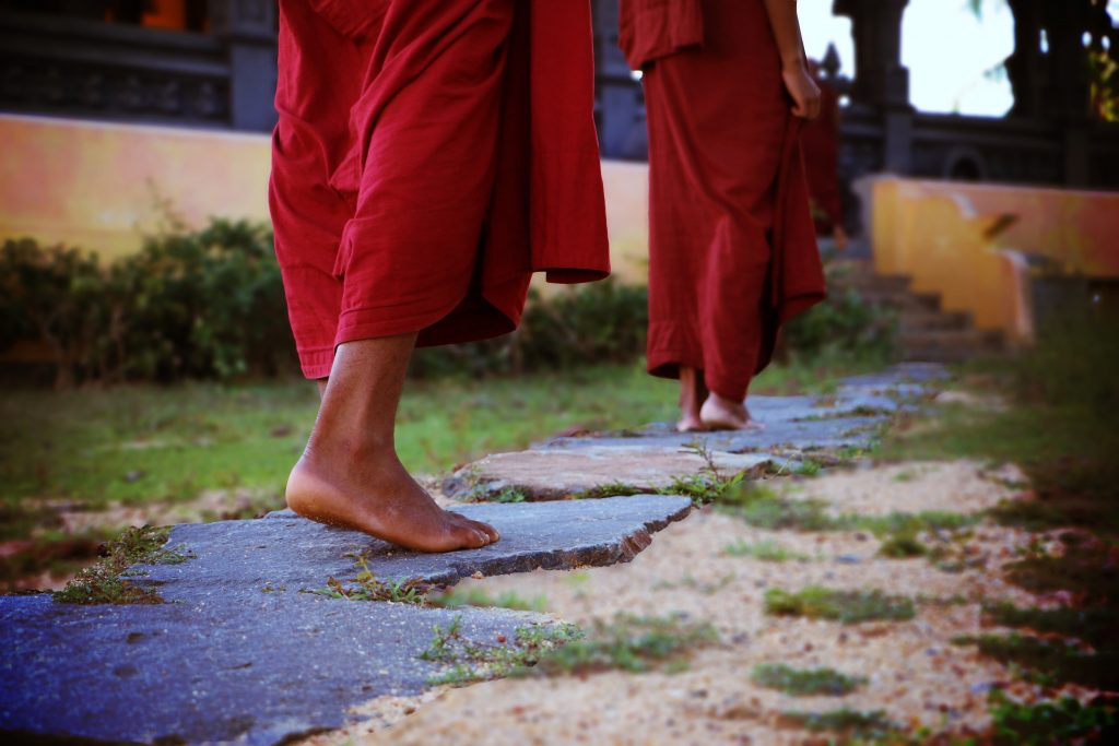 Learn how to be monk, from Buddha teachings