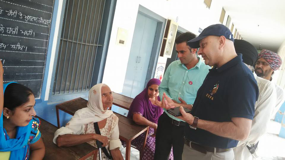 Kulwant Singh Dhaliwal of World Cancer Care Meeting Punjab People 1 -LoveYouFamily.Com