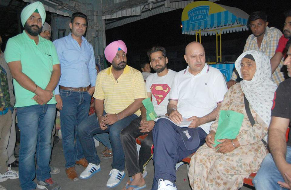 Kulwant Singh Dhaliwal of World Cancer Care Meeting Punjab People -LoveYouFamily.Com