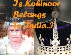 Kohinoor Diamond Studded Crown of Queen Elizabeth II
