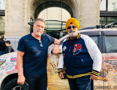 A SIKH TRAVELLER FROM DELHI TO LONDON