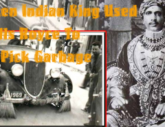 Indian-King-Jai-Singh-Used-Rolls-Royce-For-A-Garbage-Collection