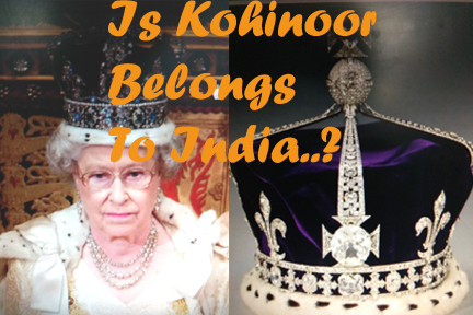 Kohinoor Diamond Studded Crown of Queen Elizabeth II